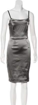 Dolce & Gabbana Sleeveless Satin Slip Dress