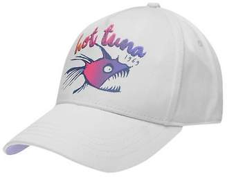 Hot Tuna Womens Baseball Cap Lightweight Cotton Print Printed Panel Design