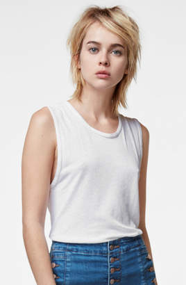 J Brand Muscle Tank In White