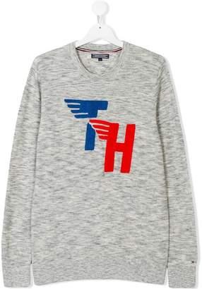 Tommy Hilfiger Junior Teen logo jumper