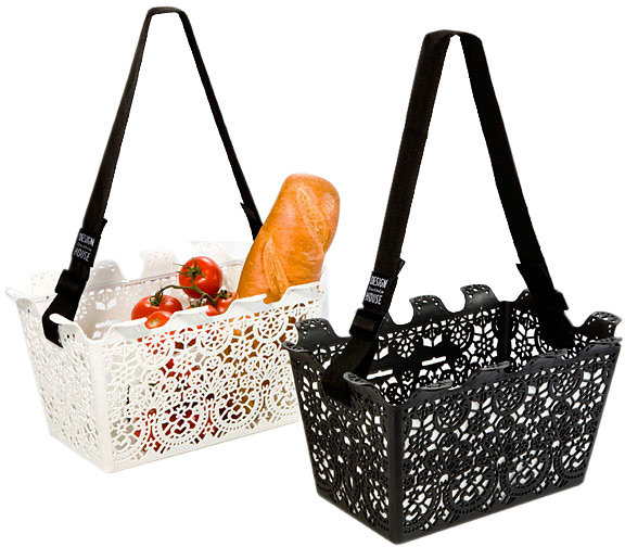 Lace Shopping Basket