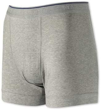 Charles Tyrwhitt Grey Cotton Stretch Jersey Trunks Size Large