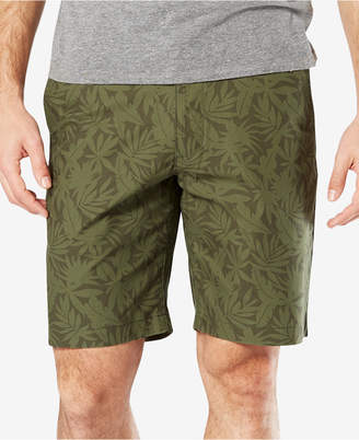 """Dockers Classic Fit 9.5"""" Printed Perfect Stretch Shorts"""
