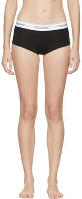 Calvin Klein Underwear Black Modern Cotton Boy Shorts