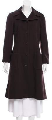 Chanel Cashmere Knee-Length Coat