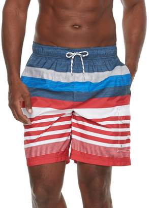 Croft & Barrow Men's Home Free Striped Swim Trunks