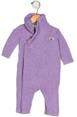 Ralph Lauren Girls' Embroidered All-In-One