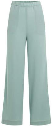 Marina Hoermanseder Wide Leg Wool Pants