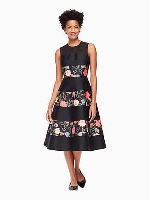 Kate Spade Blossom mikado midi dress