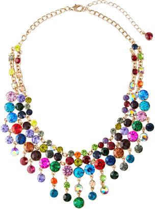Natasha Accessories Limited Crystal Bib Necklace