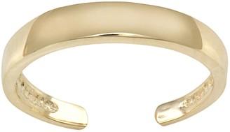 10k Gold Toe Ring