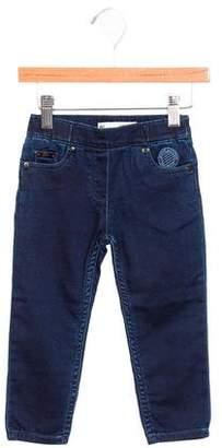 Junior Gaultier Boys' Straight-Leg Mid-Rise Pants