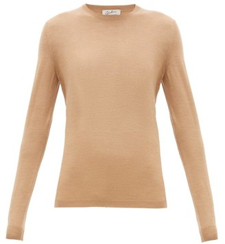 Giuliva Heritage Collection The Esthia Virgin Wool Sweater - Womens - Camel