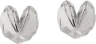 Fortune & Frame Fortune Cookie Stud Earrings, Regular