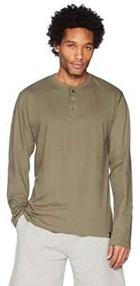 Flying Ace Men's Jersey Henley Long Sleeve T-Shirt
