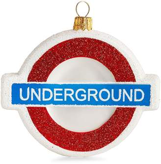 Harrods London Underground Christmas Decoration