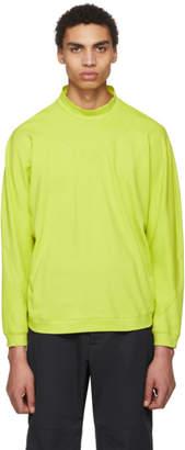 Kiko Kostadinov Green Charriere Pullover