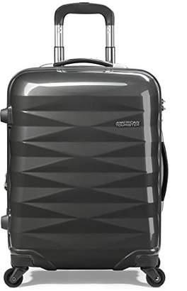 American Tourister (アメリカン ツーリスター) - [アメリカンツーリスター] AmericanTourister スーツケース Crystalite クリスタライト スピナー69 無料預入受託サイズ 保証付 保証付 70L 69cm 4.1kg R87*58003 58 ダークグレー