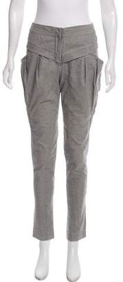 Yigal Azrouel Mid-Rise Pleated Pants