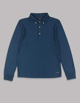 Autograph Pure Cotton Polo Shirt (3-16 Years)
