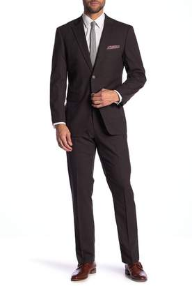 Perry Ellis Checkered Slim Fit Suit