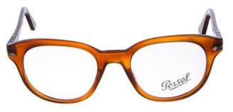 Persol Marbled Square Eyeglasses