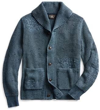 Ralph Lauren Distressed Cotton Cardigan