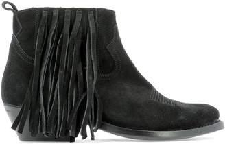 Golden Goose Tassel Ankle Boots