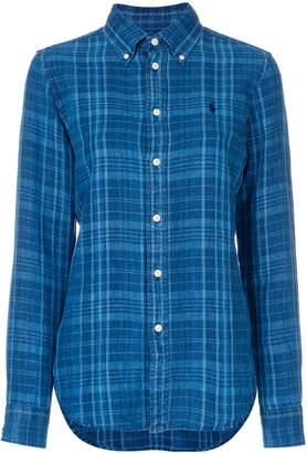 Polo Ralph Lauren (ポロ ラルフ ローレン) - Polo Ralph Lauren チェック ボタンダウンシャツ