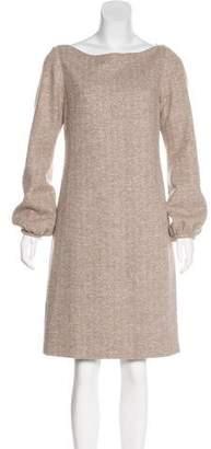 Charlotte Brody Metallic Knee-Length Dress
