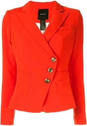Smythe buttoned wrap blazer