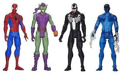 Spiderman Marvel Ultimate Spider Man Titan Hero Series Spider Man Vs. Villains Showdown...