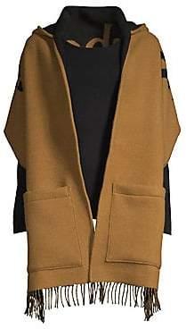 Burberry Women's Helen Textured Wool& Cashmere Wrap Shawl