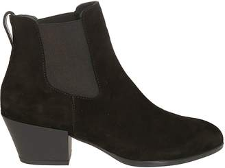 Hogan Mid Heel Ankle Boots