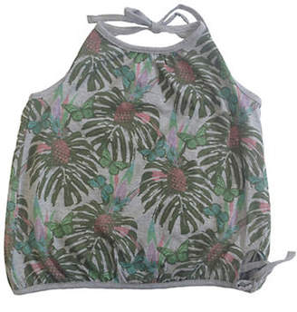 PREVIEW Tropical Haltered Tank Top
