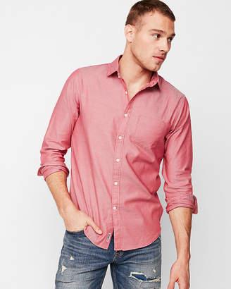 Express Slim Soft Wash Dobby Shirt