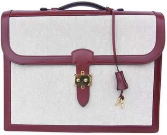 Hermes Cloth satchel
