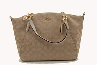 Coach Outline Signature Small Kelsey Handbag Womens Style : F27582