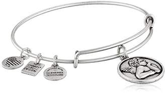 Alex and Ani Women's Charity by Design - Cherub Expandable Charm Bangle Bracelet Bangle Bracelet