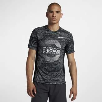 Nike Miler (Chicago 2018) Men's Short Sleeve Running Top