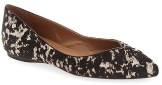 Women's French Sole 'Peppy' Pointy Toe Ballet Flat $189.95 thestylecure.com
