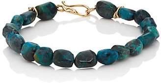 Dean Harris Men's Chrysocolla Beaded Bracelet - Blue