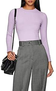 JoosTricot Women's Compact Knit Cotton-Blend Sweater - Purple