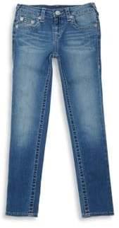 True Religion Little Girl's Single End Skinny Jeans