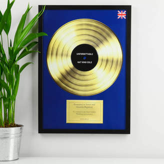 MixPixie Personalised Framed Disc Poster