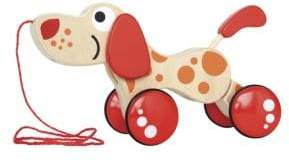 Hape Toys Wooden Walk-A-Long Puppy Toy