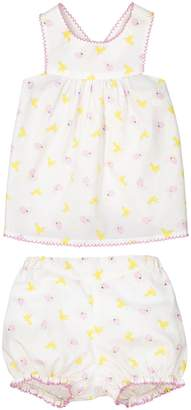 La Redoute Collections Baby's Vest Top and Shorts Set, 1 Month-3 Years
