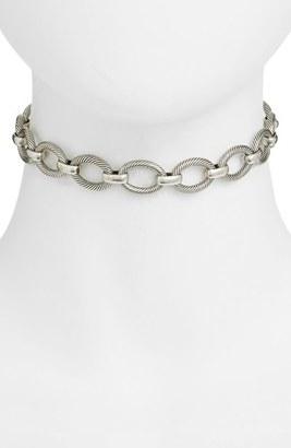 Women's Vanessa Mooney London Chain Choker $110 thestylecure.com