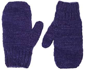 The Elder Statesman Women's Brushed Cashmere Mittens
