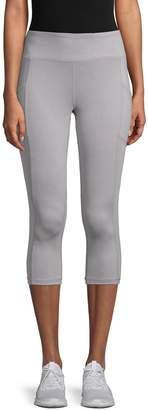 Reebok Focus Tonal-Stitched Capri Leggings